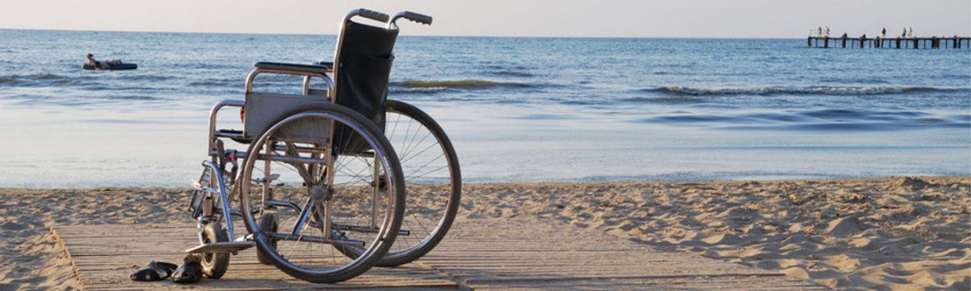 Disabilità, ecco le spiagge accessibili