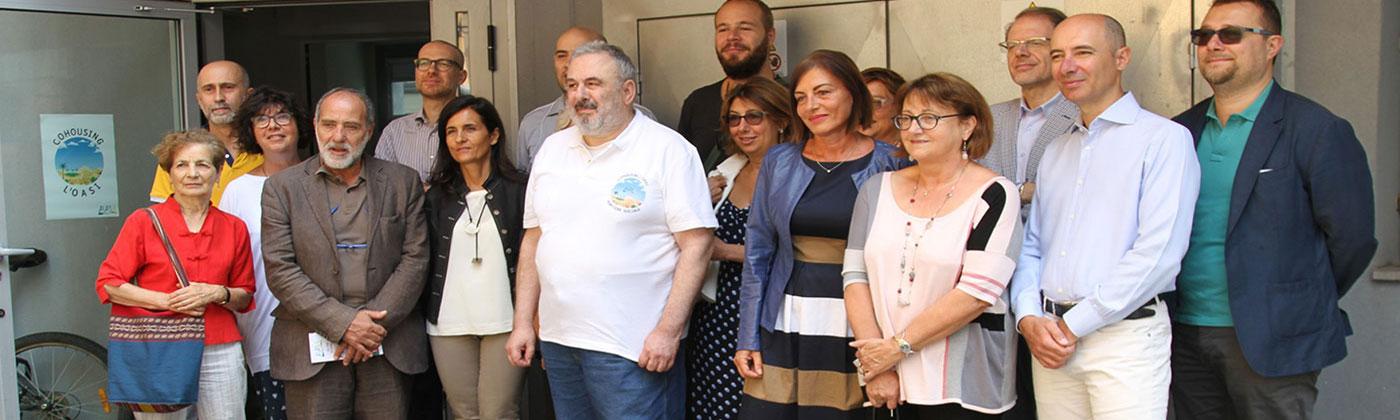 Cohousing l'Oasi, visita della 5ª Commissione