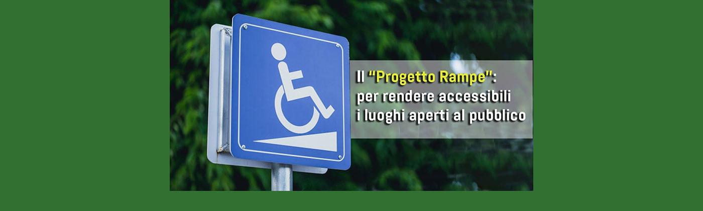 Progetto Rampe: negozi bolognesi più accessibili.